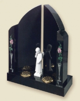 RL613 - Gates Of Heaven Indian Ebony Black